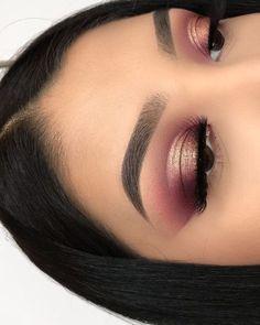 Love these helpful dark eye makeup tips Image# 7304 Makeup Goals, Makeup Inspo, Makeup Inspiration, Makeup Tips, Beauty Makeup, Beauty Tips, Beauty Hacks, Makeup Ideas, Prom Makeup