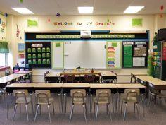 desk arrangement...Classroom Tour - Welcome to Ms. Noble's Class!