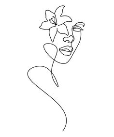 Art Drawings Sketches Simple, Easy Drawings, Abstract Face Art, Outline Art, Line Art Design, Minimalist Drawing, Doodle Art, Art Inspo, Paint