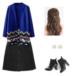"""Cute cozy work outfit"" by sagedancer on Polyvore featuring SWEET MANGO"