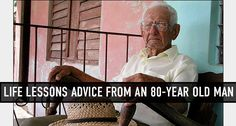 With age comes great wisdom.
