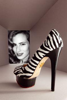 Los diseñadores de zapatos más icónicos del mundo  Charlotte Olympia y su modelo Polly de 14,5 centímetros.