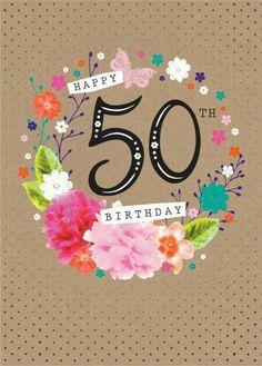 Auguri per i 50 anni