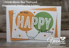 stampin up bestellen, kleuren kaarten team, spring summer catalogue, sale a bration 2017, celebrations duo embos folder