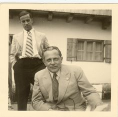 Karl Brandt and Heinrich Hoffman
