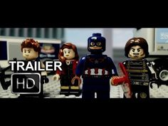 Captain America: Civil War trailer remade with Lego   EW.com<<<THIS IS THE BEST THING SINCE SLICED BREAD