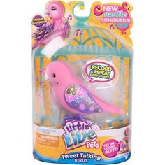 Little Live Pets S5 Bird Single Pack, Bonnie Blossom, Pink