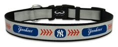 New York Yankees Reflective Medium Baseball Collar