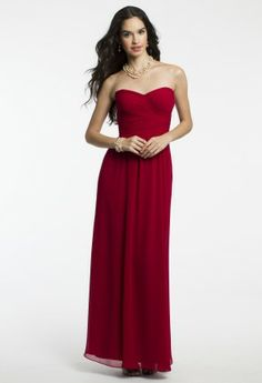 Sweet, chic, and simple is the pure essence of this beautiful long dress. A design of such elegance like this style is s...{CamilleLaVie-BalhI4mW} 129