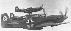"Several P-51s were captured by the Luftwaffe as Beuteflugzeug (""captured aircraft"") following crash landings. These aircraft were subsequently repaired and test-flown by the Zirkus Rosarius, or Rosarius Staffel, the official Erprobungskommando of the Luftwaffe High Command, for combat evaluation at Göttingen."