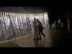 First Dance | Waterfall Pyrotechnics Fireworks | Wedding party in Bali | Bali Wedding Butler - YouTube