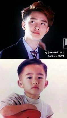 Kyungsoo then & now .... no diffrence still kiyomiii :)