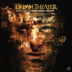 Dream Theater - Metropolis Scenes From A Memory by Dave McKean Dave Mckean, Dream Theater, Music Album Covers, Music Albums, Music Books, Gifs, Chris Collins, Playlists, Hard Rock