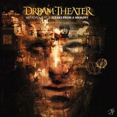 Dream Theater - Metropolis PT. 2: Scenes From a Memory  Original album cover