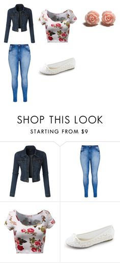 """""""A good day out with my friends"""" by alexiawilliams-1 ❤ liked on Polyvore featuring LE3NO and City Chic"""