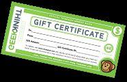 Gift Certificate for ThinkGeek.com