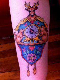cuckoo clock tattoo - Google Search