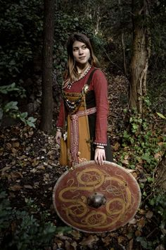Forest shield maiden.