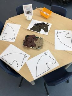 Horses Continuous Provision – Best Art images in 2019 Farm Crafts, Horse Crafts, Animal Crafts, Farm Activities, Animal Activities, Preschool Activities, Kindergarten Art, Preschool Crafts, Art For Kids
