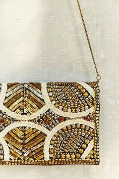 Ecote Embellished Clutch