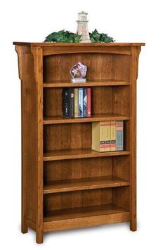 Amish Bridger Mission Bookcase Bookworms might like this stylish mission bookcase with solid wood shelves to host treasured novels. Choice of 4 or 5 adjustable shelves. Built in choice of wood and stain. Amish furniture made in Indiana. #bookcases Amish Furniture, Solid Wood Furniture, Bed Furniture, Quality Furniture, Furniture Making, Living Room Furniture, Plywood Shelves, Solid Wood Shelves, Wide Bookcase