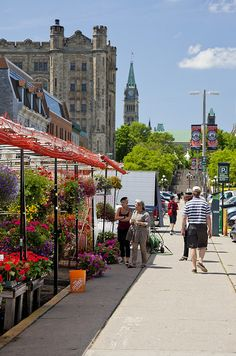 Byward Market in Canada's Capital, Ottawa (Ontario) Ottawa Canada, Ottawa Ontario, Canada Eh, Montreal Canada, Westminster, The Places Youll Go, Places To Go, Wonderful Places, Beautiful Places