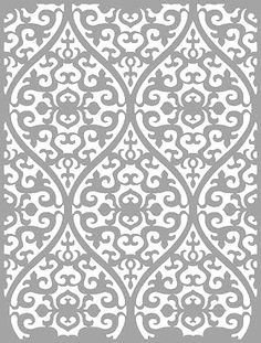 große Schablonen – Buntstück Hamburg Laser Cut Patterns, Stencil Patterns, Cut Out Design, Decoupage, Stencils, Templates, Crafty, Wallpaper, Cricut Ideas