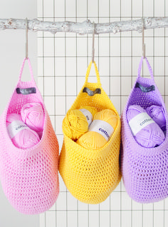 Laundry Bag - Inside Crochet issue 55 | Inside Crochet