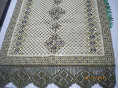 Beaded Embroidery, Embroidery Stitches, Embroidery Designs, Stitch Design, Needlepoint, Bohemian Rug, Diy And Crafts, Applique, Beads