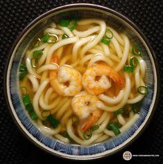 Meet The Manufacturer: Re-Review: Sakura Noodle Chikara Brand Udon Shrimp Flavor - The Ramen Rater