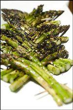 Sesame Grilled Asparagus Recipe   SAVEUR