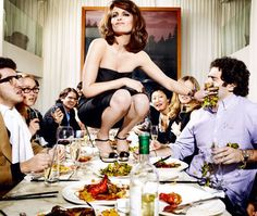 Tina Fey in Esquire. Funny girls make the best editorial spreads. Get some girl.
