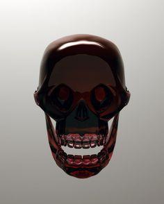 Gemmologie vanité crâne art contemporain Julien Brunet exposition