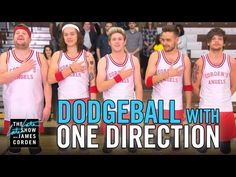 "One Direction Played Dodgeball On ""The Late Late Show,"" And It Was Amazing"