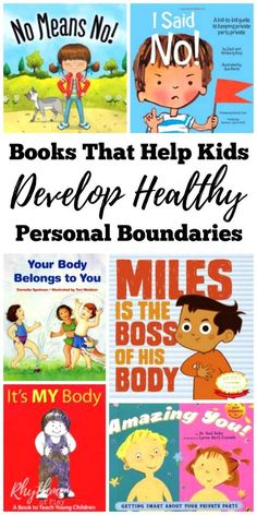 As parents, teachers, counselors, and caregivers, we need to help our children develop body boundaries. These books that help teach healthy body boundaries for preschoolers and up will help your child learn about good touch and bad touch. Learning how to say no to unwanted advances from both friends and strangers is important to a child's social-emotional health and development, and may save them from molestation and sexual abuse.