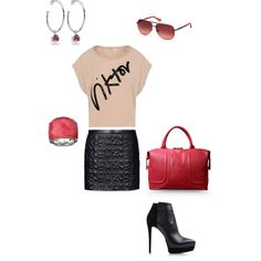 """""""Love Leather"""" by catalogate on Polyvore"""