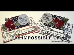 No.376 - The Impossible Card - UK Stampin' Up! Independent Demonstrator - YouTube
