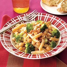 Pasta with Chickpeas and Broccoli | MyRecipes.com