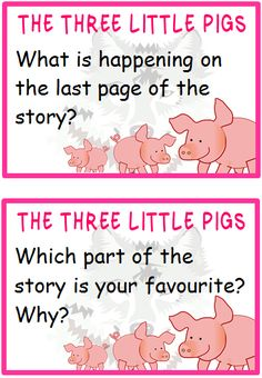 The Three Little Pigs Prompts - Treetop Displays - Printable EYFS, classroom displays & primary teaching resources Ks2 Classroom, Classroom Displays, Classroom Rules, Classroom Ideas, Traditional Tales, Traditional Stories, Primary Teaching, Teaching Resources, Teaching Ideas