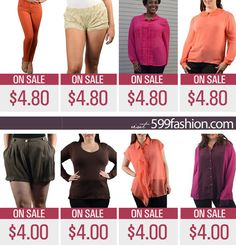 Save Additional 20% OFF on 1600 items already on SALE *2 DAYS ONLY *  599fashion.com