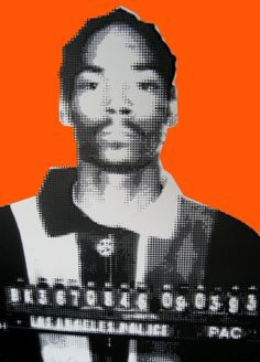 SNOOP DOG #mugshot #art