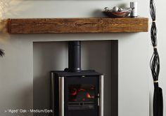Oak Beams for Woodburning Stoves Yorkshire St, Oldham Manchester Lancashire. Oak beam over fire