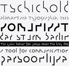 Design and Paper | TypoThursday ● Fontarte | http://www.designandpaper.com