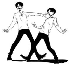 Eren and Levi music video choreography