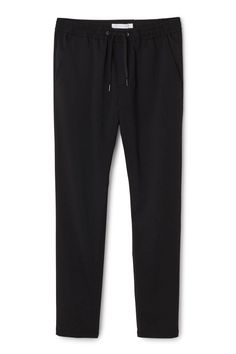 The Dusk Dressed Joggers have a comfortable drawstring in waist, slightly  tapered legs and two