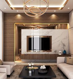 Modern Luxury Living Room Design Elegant Luxury Modern Villa Qatar On Behance Elegant Living Room, Living Room Modern, Interior Design Living Room, Interior Design For Drawing Room, Cozy Living, Small Living, Luxury Living Rooms, Drawing Room Wall Design, Luxury Bedroom Design