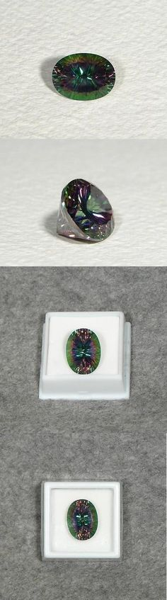 Topaz 10270: Huge 24 Carat Green Mystic Topaz 20X15mm Oval Cut Loose Gemstone In Case Gems Lg -> BUY IT NOW ONLY: $66 on eBay!