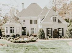 Dream House Exterior, Dream House Plans, House Exteriors, Dream Home Design, My Dream Home, Casas Country, Luxury Homes Dream Houses, Cute House, House Layouts