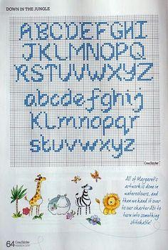 Znalezione obrazy dla zapytania cross stitch letter pattern cursive