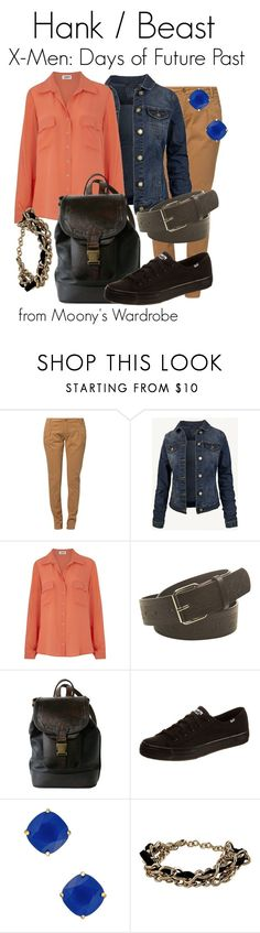 """""""Hank / Beast: X-Men Days of Future Past"""" by evalupin ❤ liked on Polyvore featuring Bench, Fat Face, L'Agence, Wet Seal, Keds, Kate Spade, RED Valentino, beast, xmen and hank"""